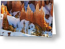Bryce Canyon Winter 3 Greeting Card