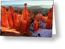 Bryce Canyon's Thor's Hammer Greeting Card