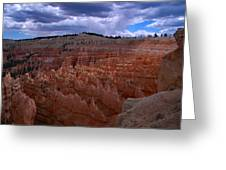Bryce Clouds 2 Greeting Card