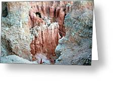 Bryce Crags Greeting Card