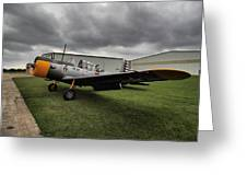 Bt-13a Valiant Greeting Card
