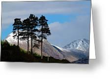 Buachaille Etive Mor From Glen Etive Greeting Card