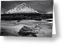 Buachaille Etive Mor Mono Greeting Card