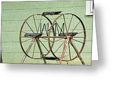 Bubbas  Fairs Wheel Greeting Card