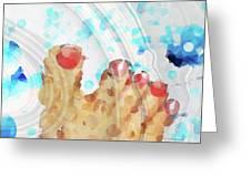 Bubble Bath - Sharon Cummings Greeting Card
