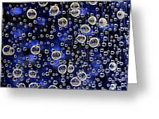 Bubble Baubles Greeting Card