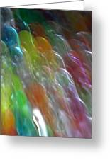 Bubble Fall Greeting Card