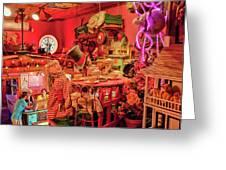 Bubble Room Restaurant - Captiva Island, Florida Greeting Card