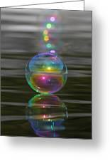 Bubble Shazam Greeting Card