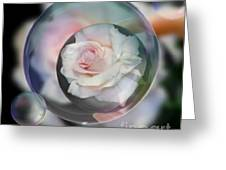 Bubbles Of Love Greeting Card