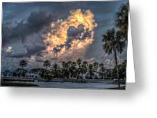 Bubbling Clouds Greeting Card