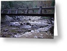 Bubbs Creek Bridge Greeting Card