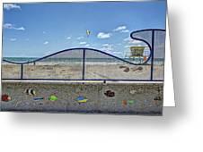 Buccaneer Beach Greeting Card
