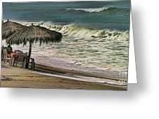 Bucerias Beach Mexico  Greeting Card