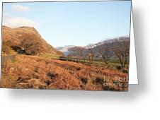 Buckbarrow Crag Greeting Card