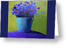 Bucket Of Blue Greeting Card