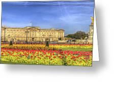 Buckingham Palace London Panorama Greeting Card