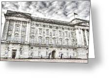 Buckingham Palace London Snow Greeting Card