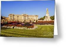 Buckingham Palace, London, Uk. Greeting Card