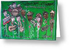 Buckner Funken Jazz Greeting Card