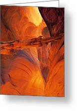 Buckskin Gulch Greeting Card