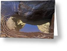 Buckskin Gulch Reflection Greeting Card