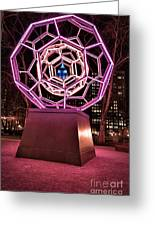 bucky ball Madison square park Greeting Card