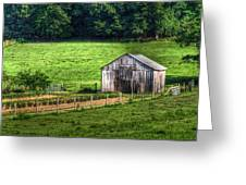 Bucolic Tobacco Barn 1 Greeting Card