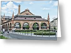 Budapest Central Market Exterior Greeting Card