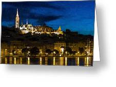 Budapest - Id 16236-104947-3830 Greeting Card