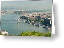 Budapest Panorama Photo Greeting Card