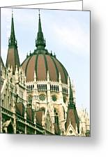 Budapest Parliment Greeting Card