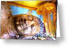Budda Sleep Greeting Card