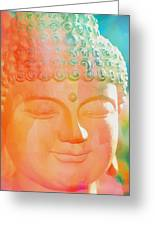 Buddah Glow Greeting Card