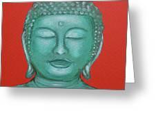 Buddah I Greeting Card