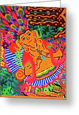 Buddah Love Greeting Card