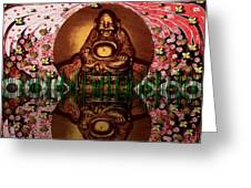 Buddha Garden Greeting Card