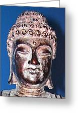 Buddha Head 1 Greeting Card