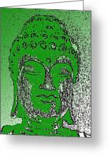 Buddha Head 4 Greeting Card
