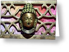 Buddha - Heavy Metal Greeting Card