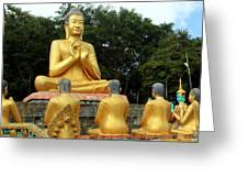 Buddha In Cambodia Greeting Card