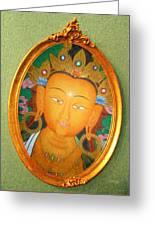 Buddha Mirror Greeting Card