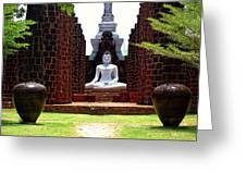 Buddha Samadhi Greeting Card