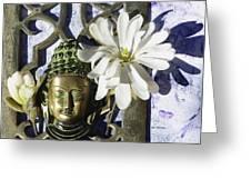 Buddha - Spring Greeting Card