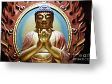Buddha Tooth Relic Temple 1 Greeting Card