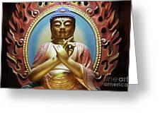 Buddha Tooth Relic Temple 3 Greeting Card
