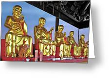 Buddhas Delight - Representations Of Buddhism Greeting Card