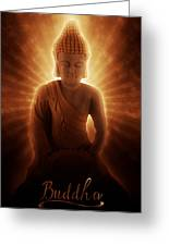 Buddhas Enlightenment Greeting Card