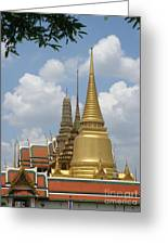 Buddhist Chedi - Bangkok Greeting Card
