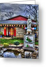 Buddhist Temple Greeting Card